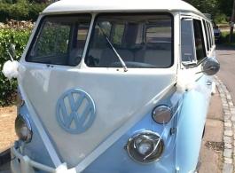 Classic Campervan wedding hire in Hailsham